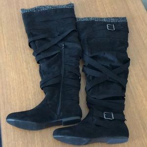 Just Fab knee high boots size 10
